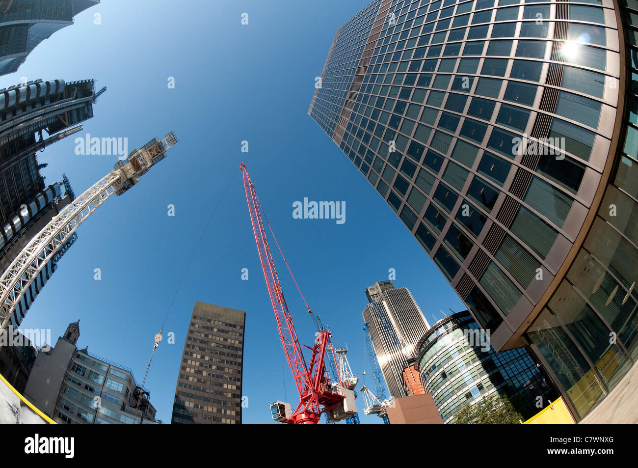 office buildings, london, england - Stock Image