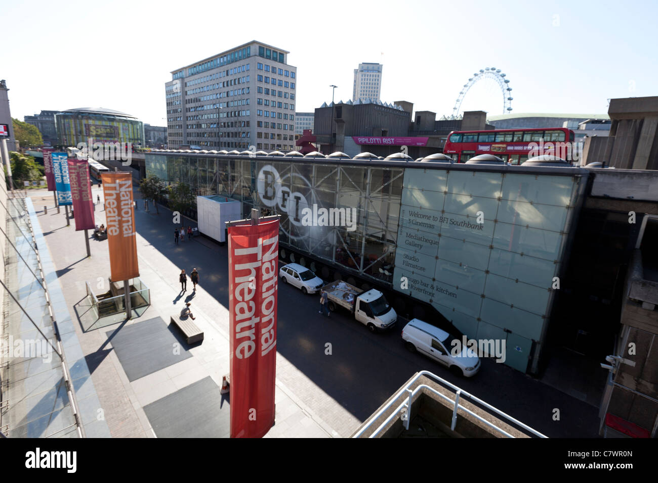 BFI, Southbank, London, England, UK. - Stock Image