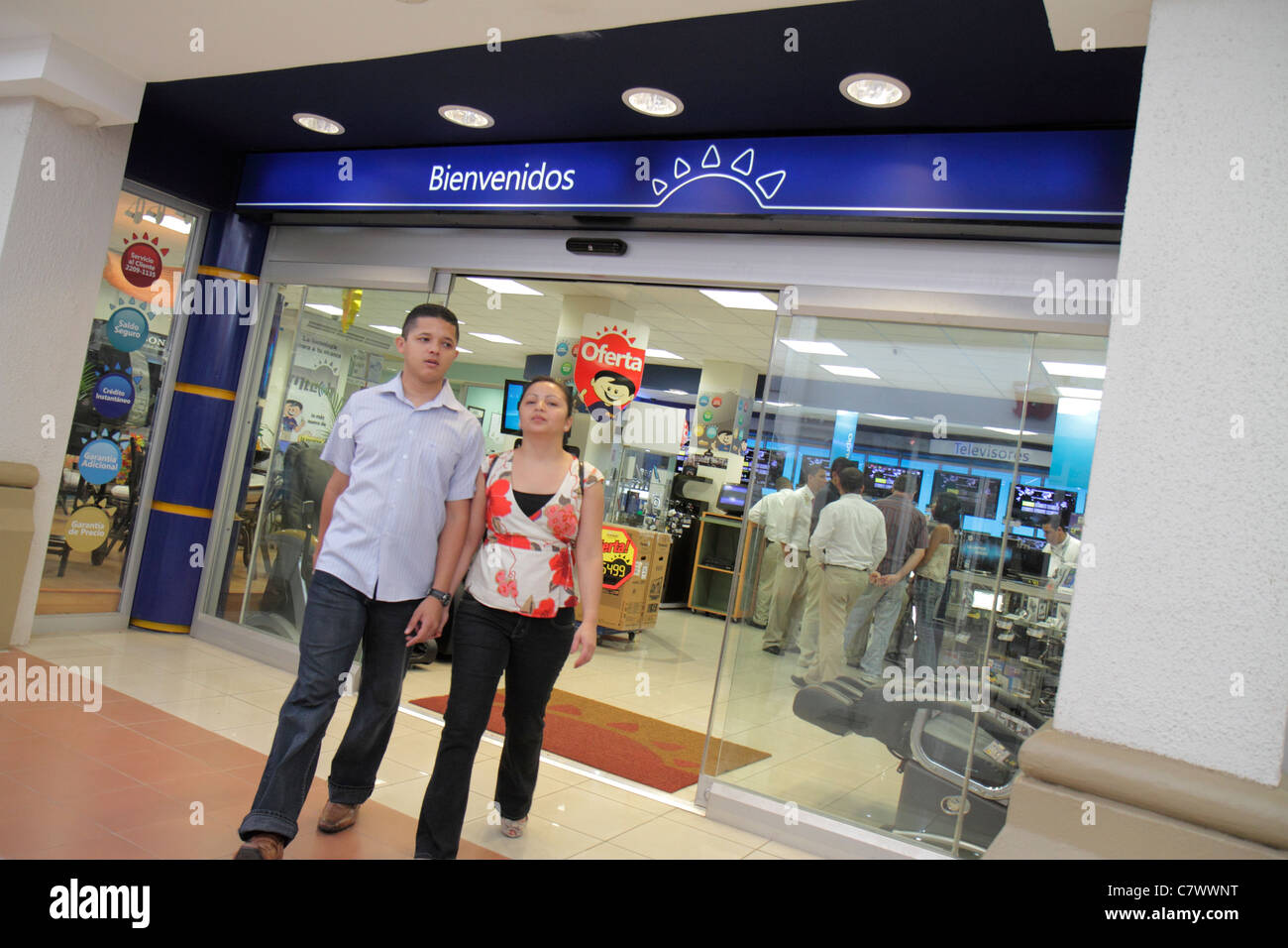 managua nicaragua metrocentro shopping center centre mall business