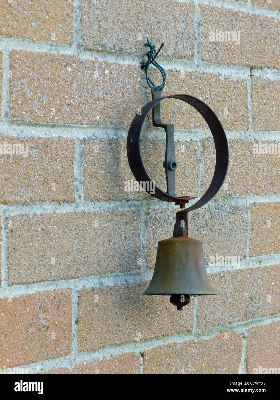 An Old Servant's Bell - Stock Image