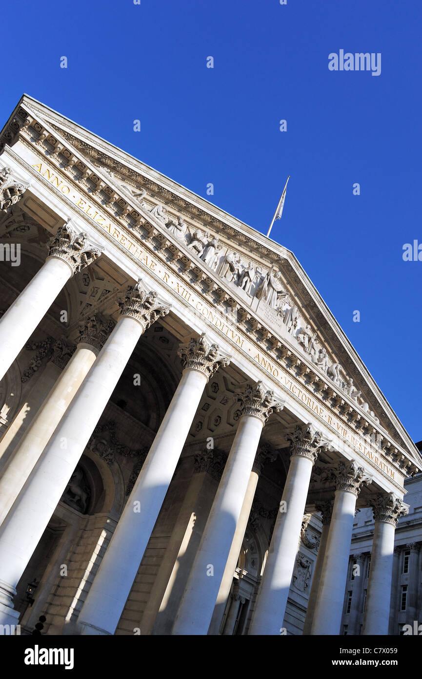 The Royal Exchange London - Stock Image