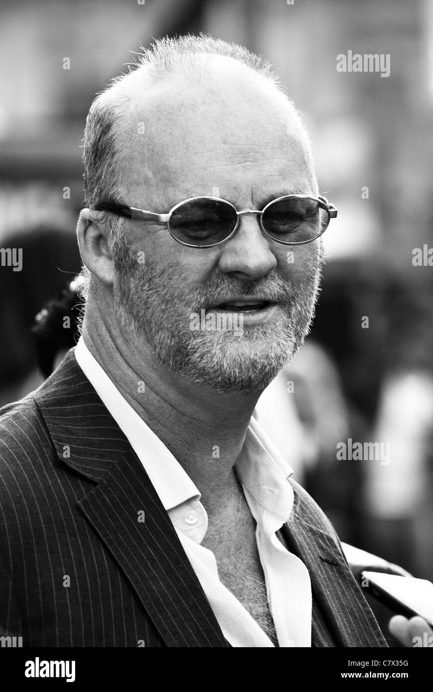 Tim McInnerny attends the UK Premiere of Johnny English Reborn at The Empire, Leicester Square, London on 2nd October - Stock Image