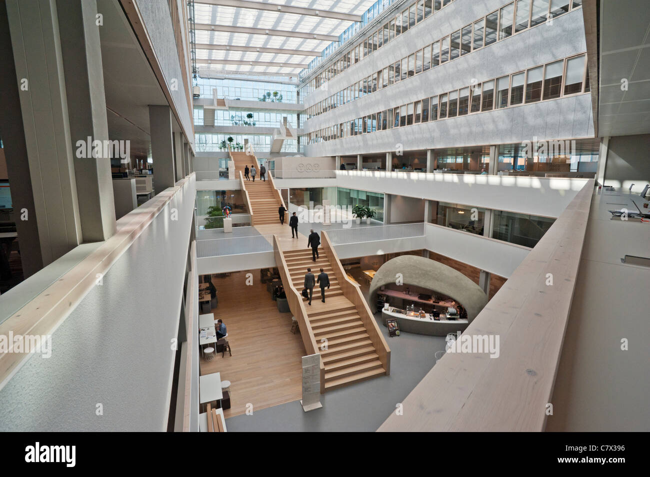 TNT Express' sustainable head office in Hoofddorp, the Netherlands - Stock Image