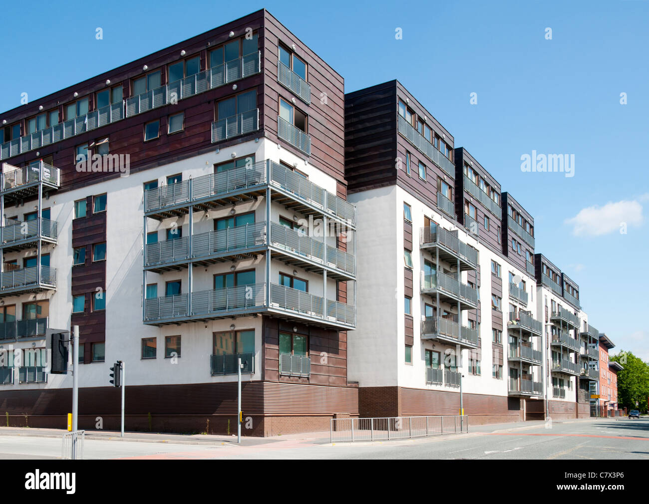 Isaac Way Apartments, Off Every Street, Ancoats, Manchester, England, UK