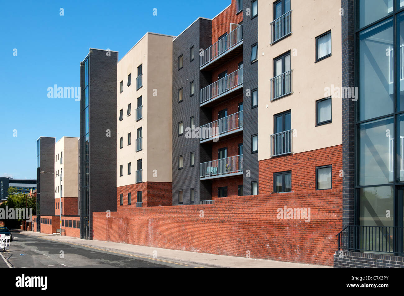 Quantum Apartments, Chapeltown Street, Manchester, England, UK - Stock Image