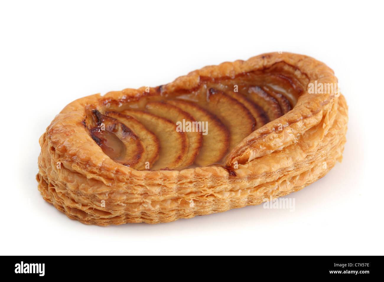 Barquette aux pommes Apple Tray - Stock Image