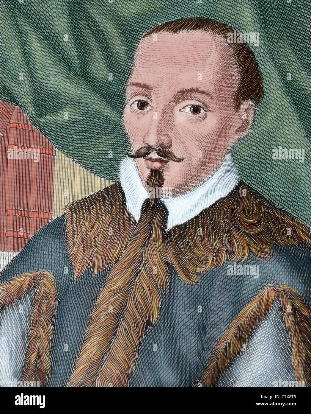 Jeronimo de Zurita y Castro (1512-1580). Spanish historian, founder of the modern tradition of historical scholarship - Stock Image
