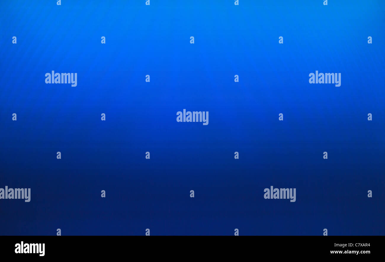 blue Background from a screen - Stock Image