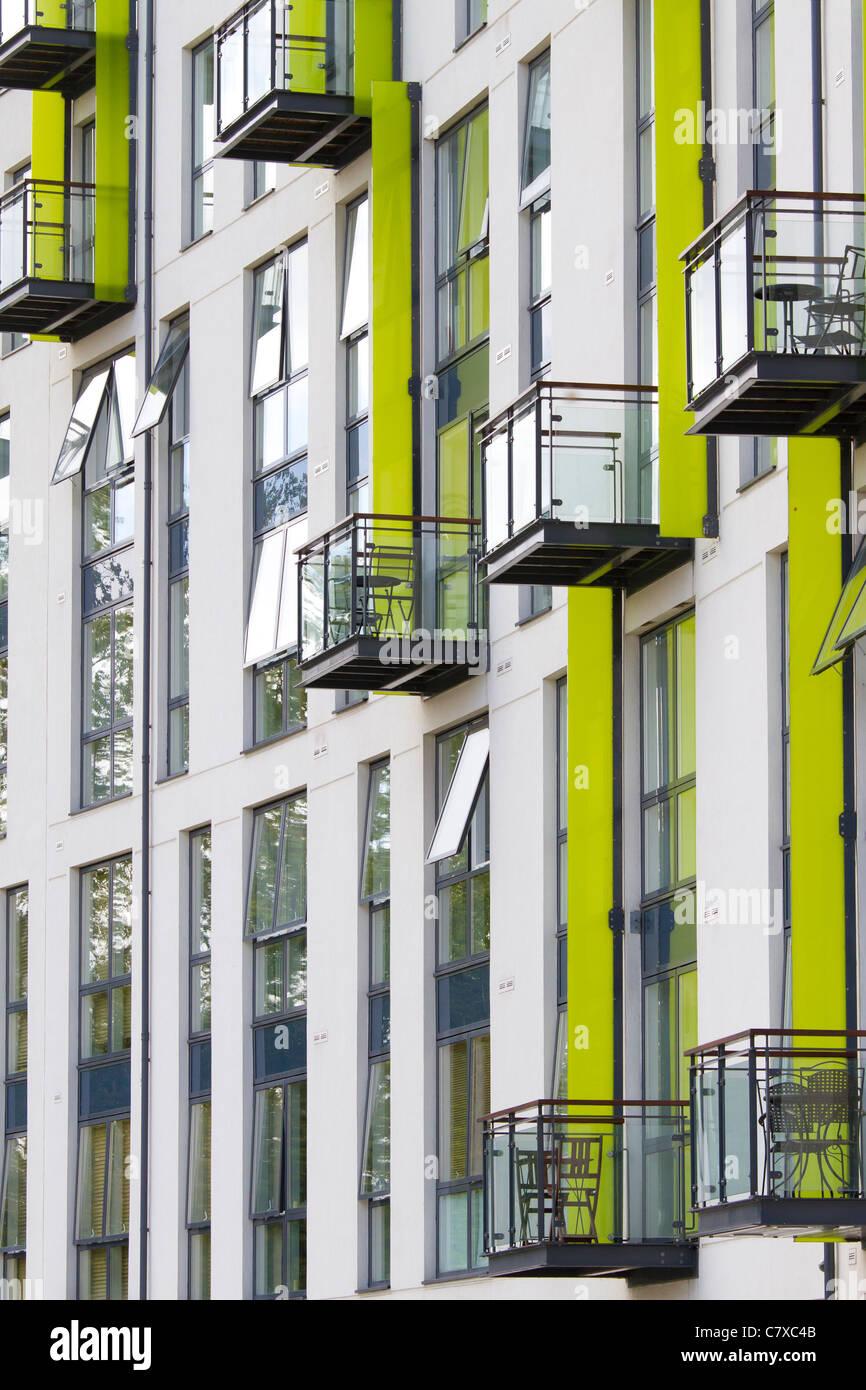 Hemisphere Apartments, The Boulevard, EDGBASTON. Calthorpe Estate, Birmingham, England - Stock Image