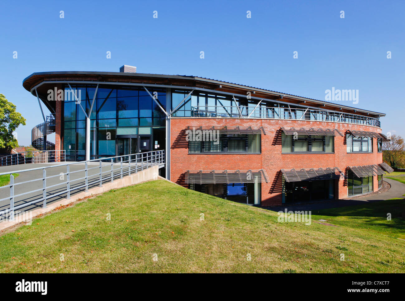 e-innovation centre at The University of Wolverhampton, Telford Campus, Shropshire. - Stock Image