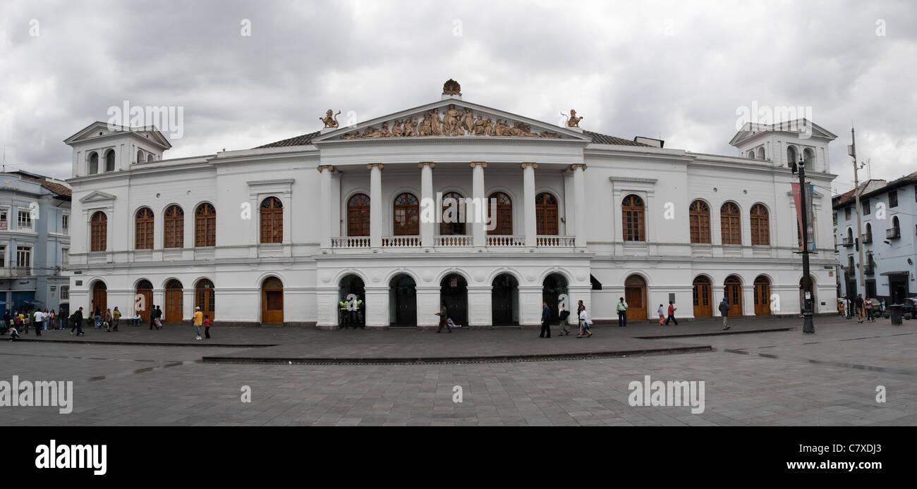 Teatro Sucre, Quito Ecuador Stock Photo