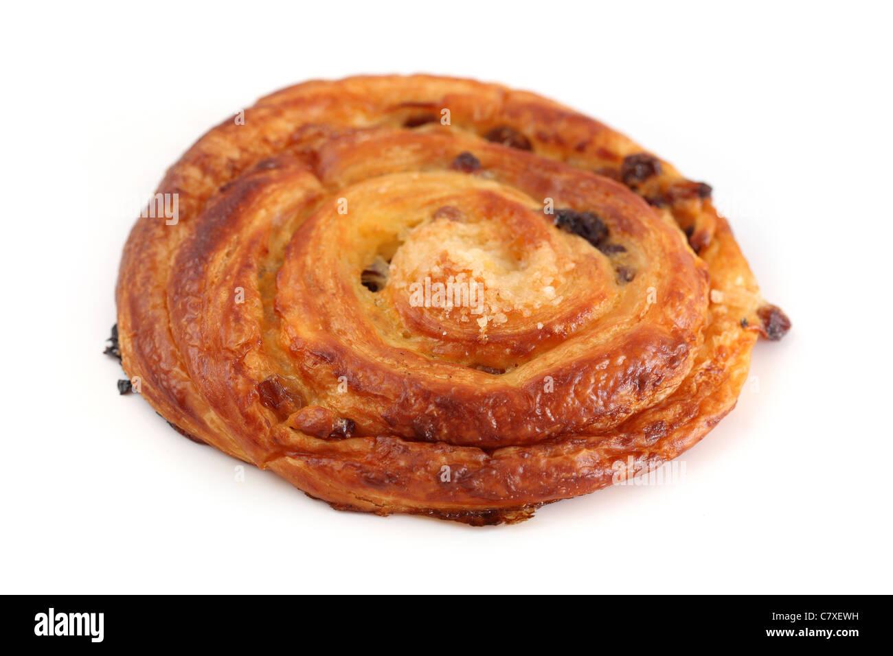 pain aux raisins Raisin Bread - Stock Image