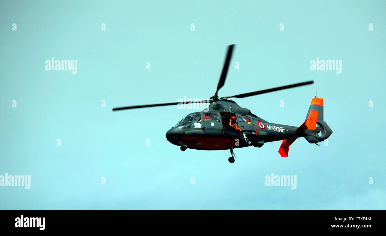 French Air Sea Rescue - Stock Image