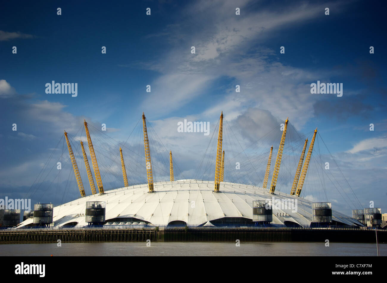 The O2, London Docklands - Stock Image