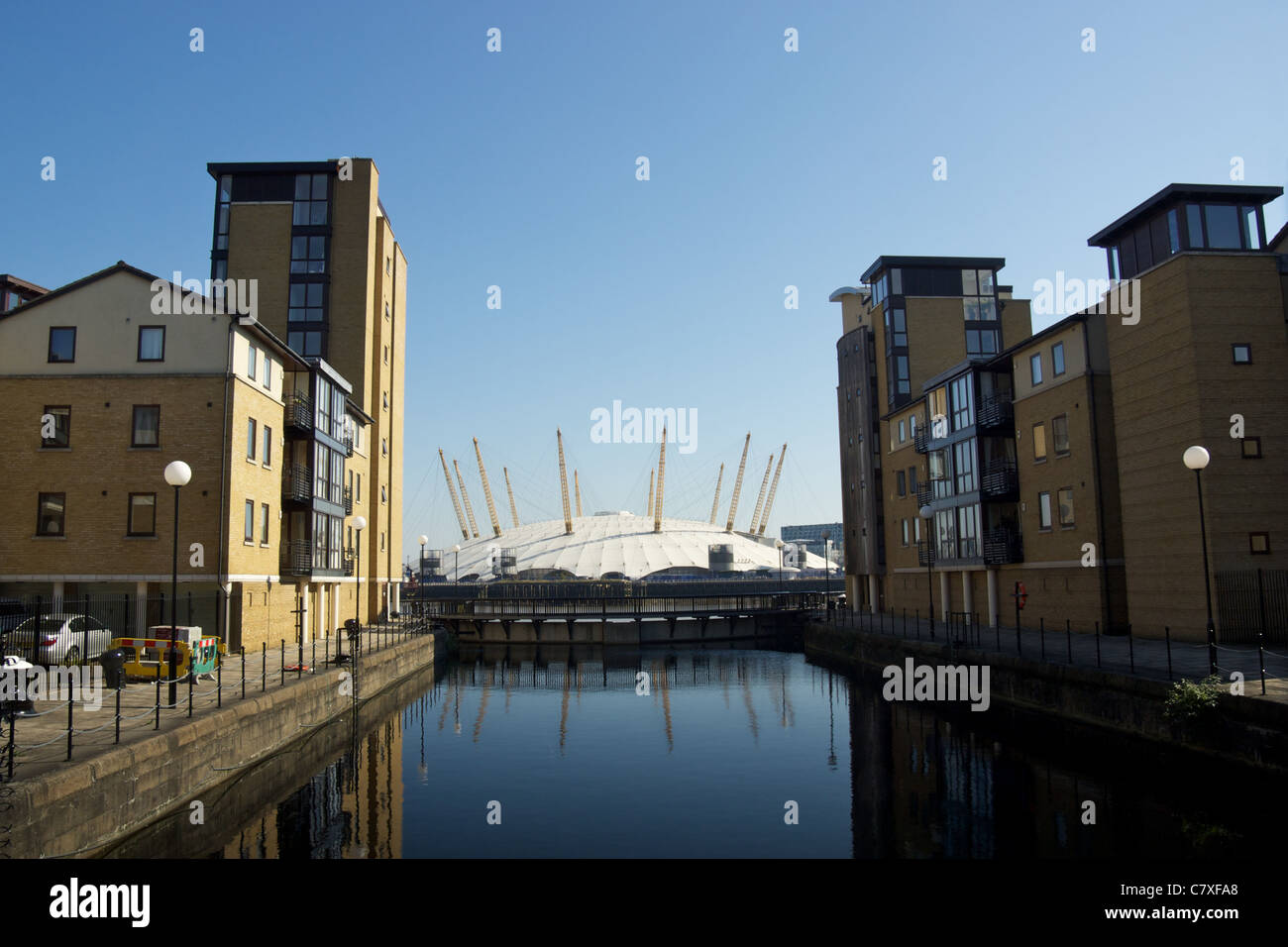 The O2 from the Isle of Dogs - Stock Image