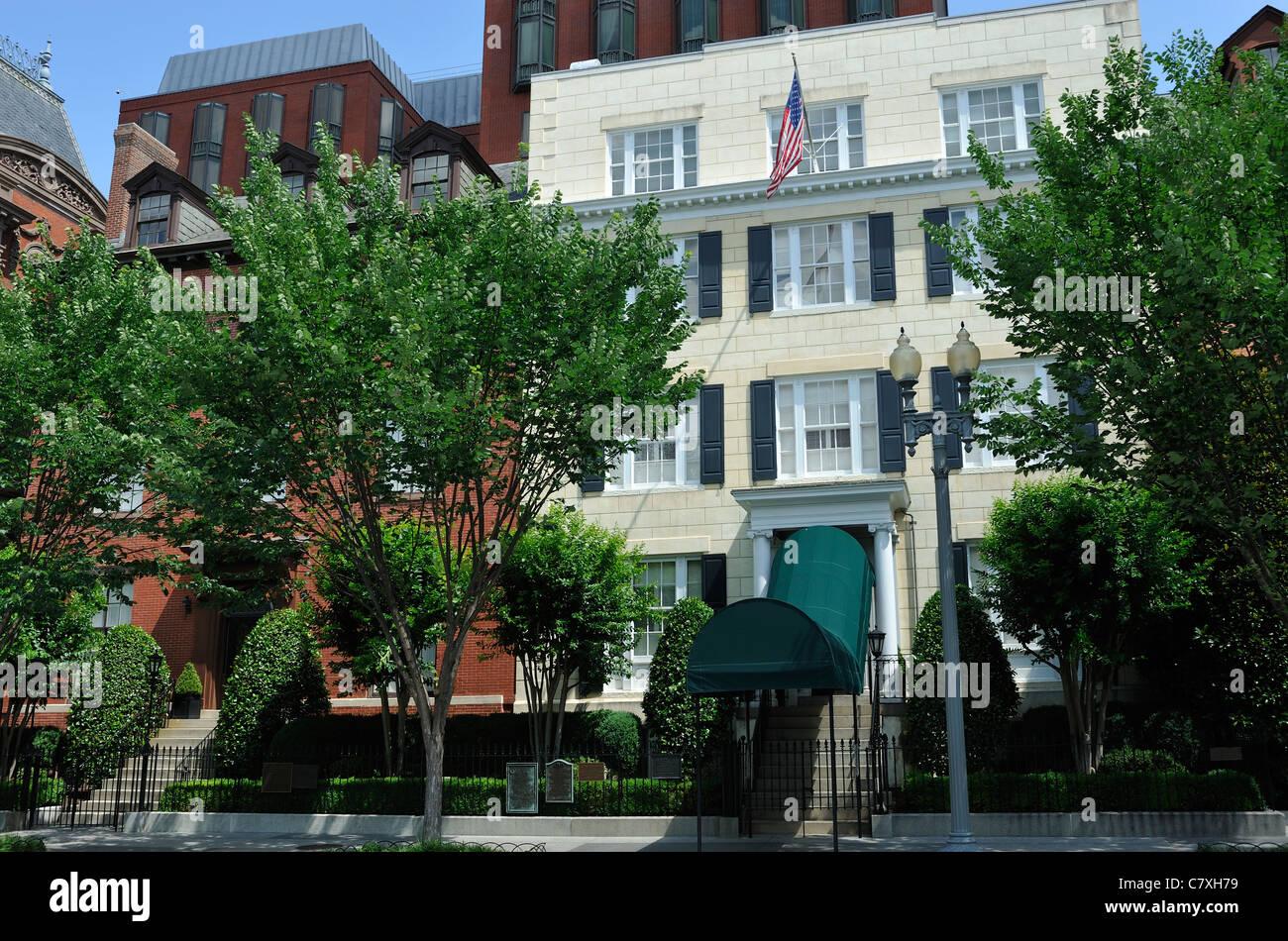 Blair House, Lafayette Square, Washington DC, USA Stock