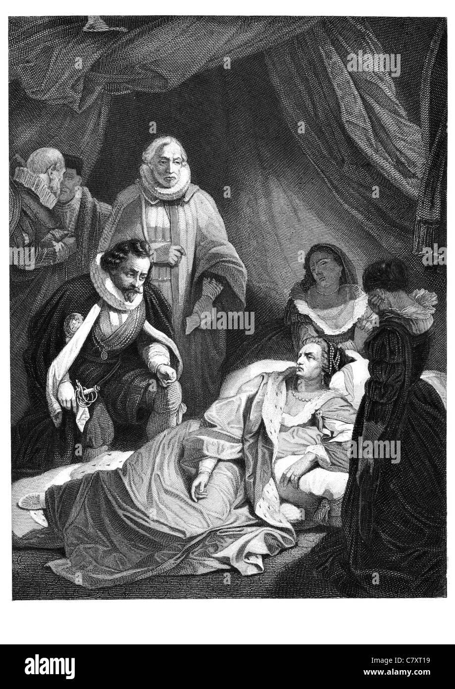 Death Of Queen Elizabeth I Stock Photos & Death Of Queen Elizabeth I