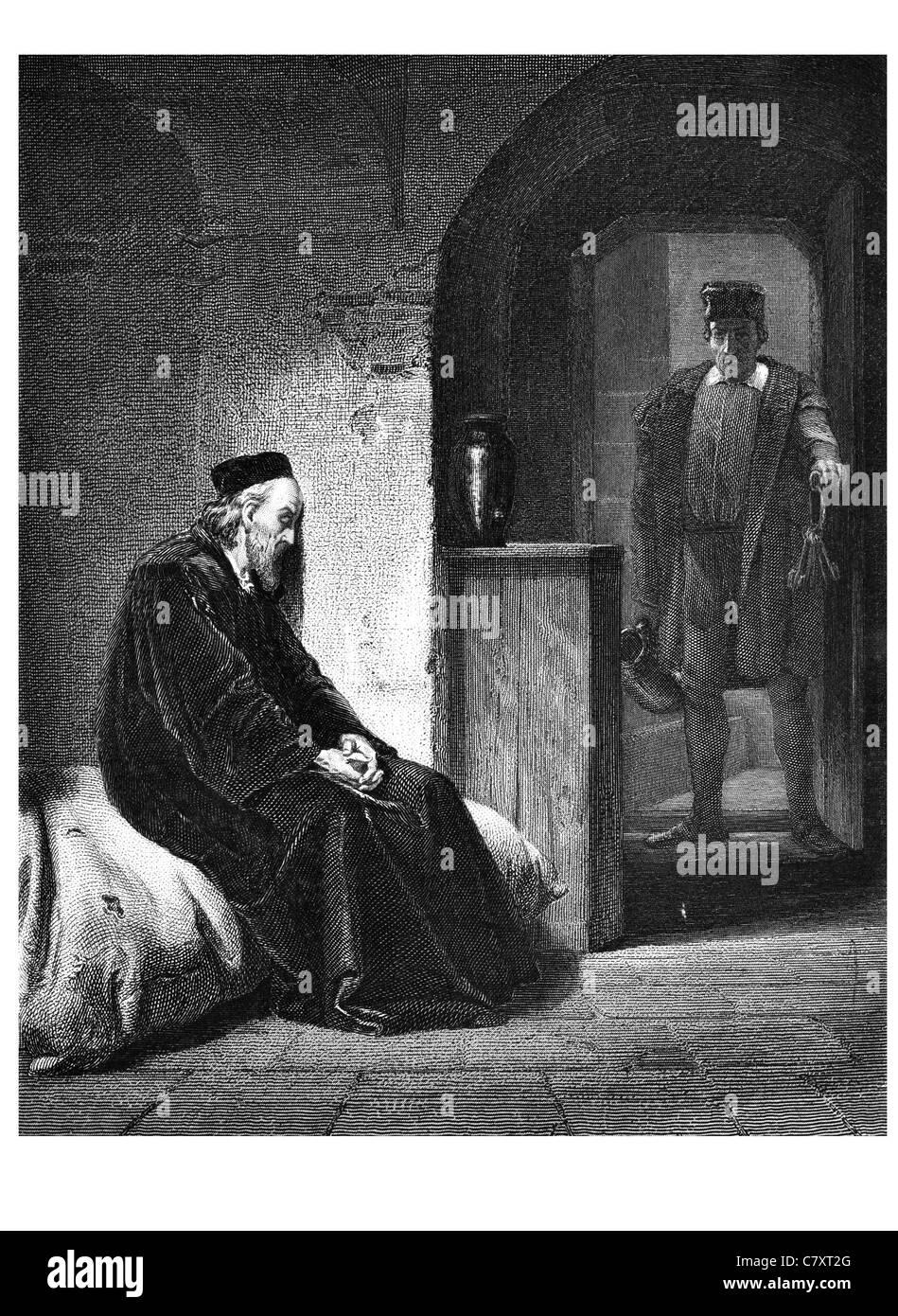 Sir Thomas More 1478 1535 English lawyer author statesman Renaissance humanist scholar Lord Chancellor - Stock Image
