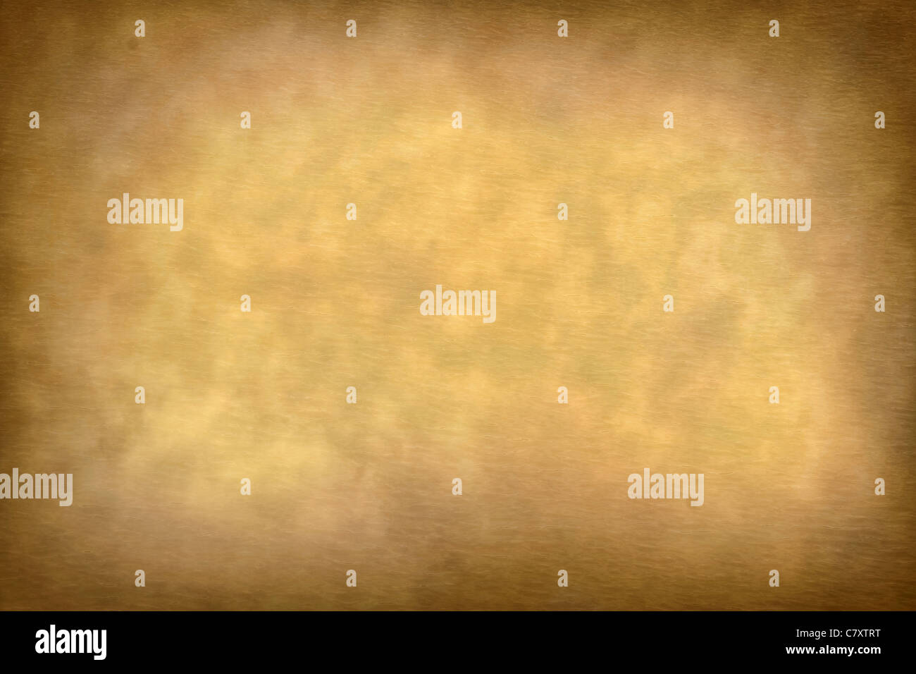 Old Parchment Rustic Paper Texture Background With Vignette