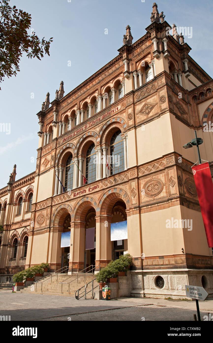 Milan - Natural history museum - Stock Image