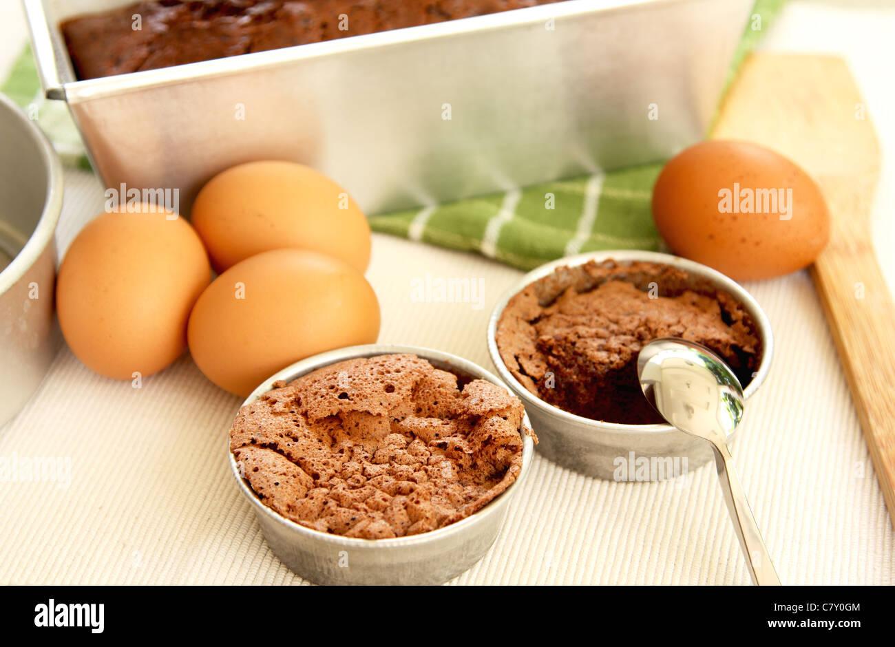 Baking cake [ Preparation for baking  ] - Stock Image