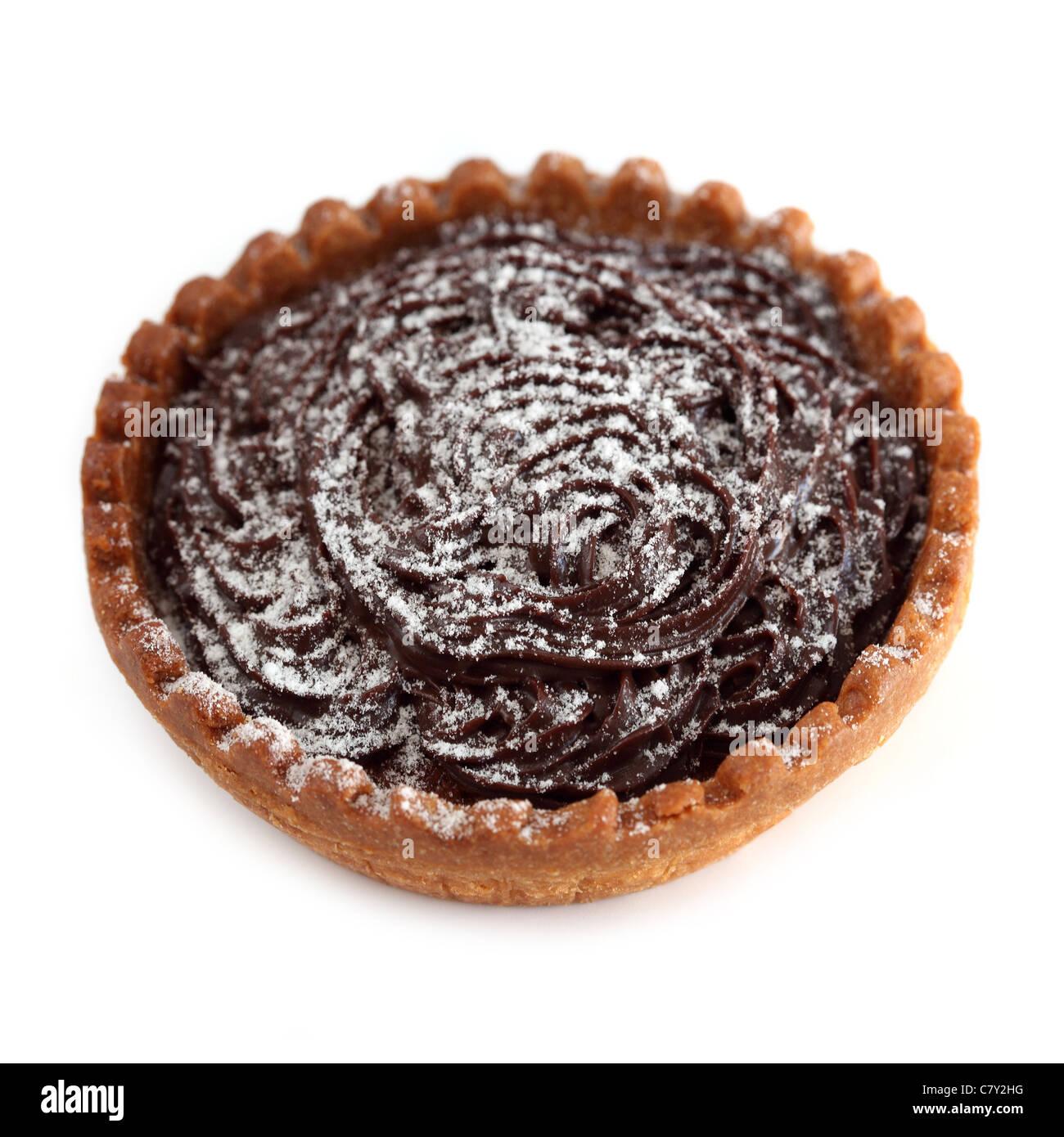 Tartelette chocolat tartlet chocolate - Stock Image