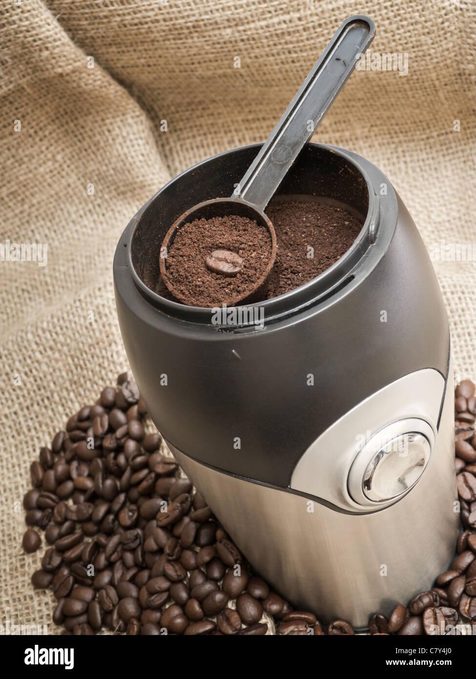 Ground Coffee - Stock Image