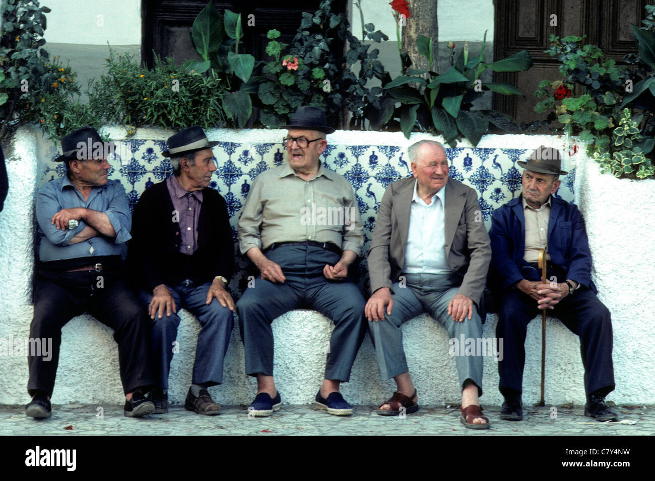 Old men chatting
