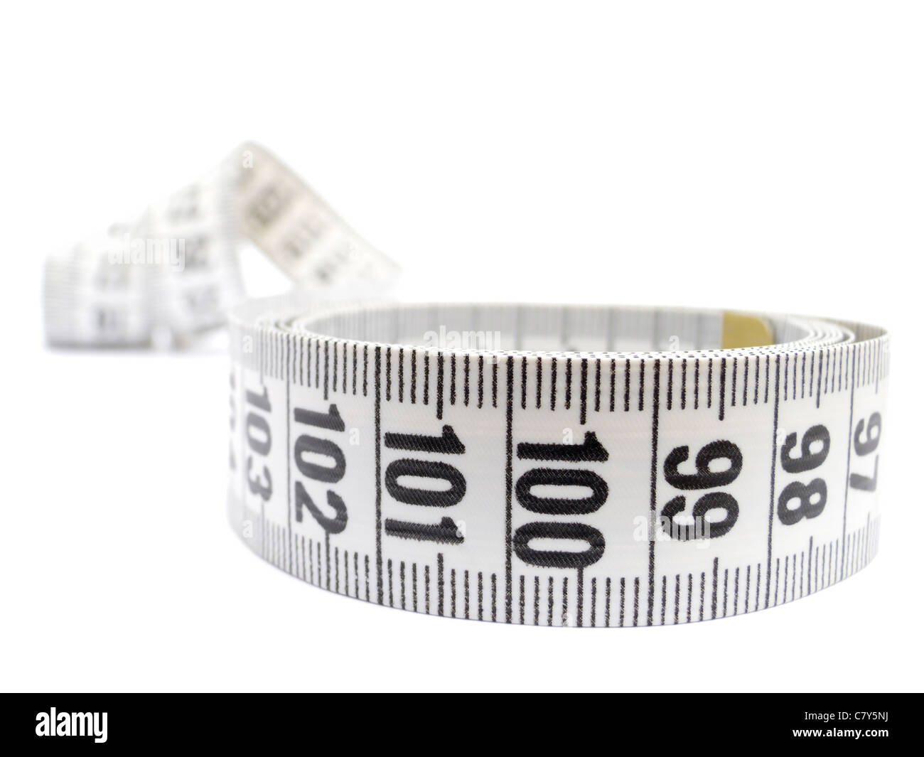 Tape Measure Hundred - Stock Image