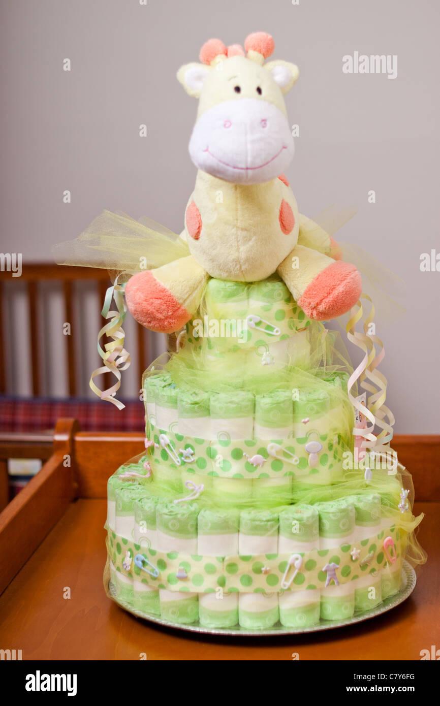 Diaper Cake Stock Photos & Diaper Cake Stock Images - Alamy
