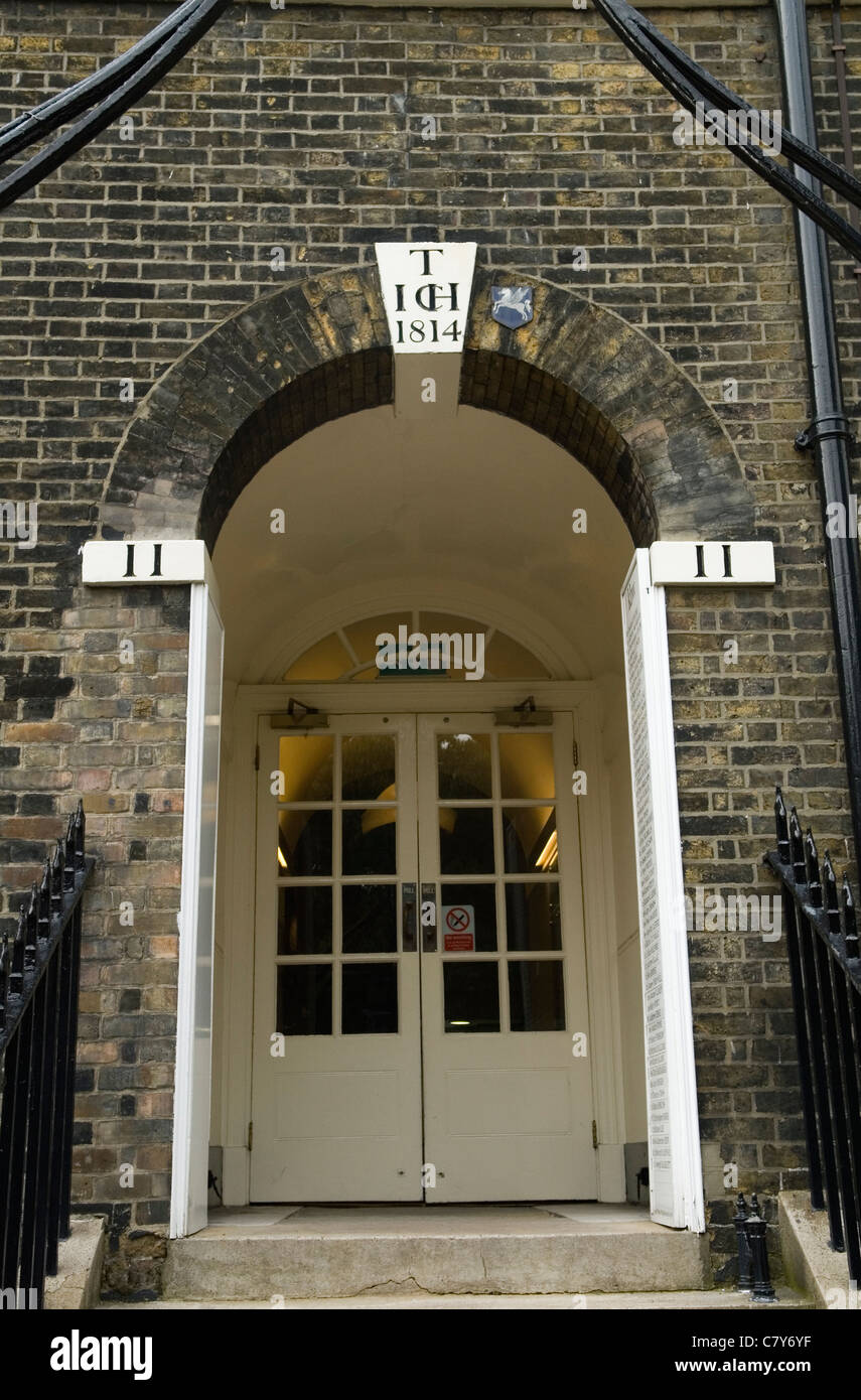 Inns of Court London. Uk. 11 Kings Bench Walk Inner Temple Barristers Chambers - Stock Image