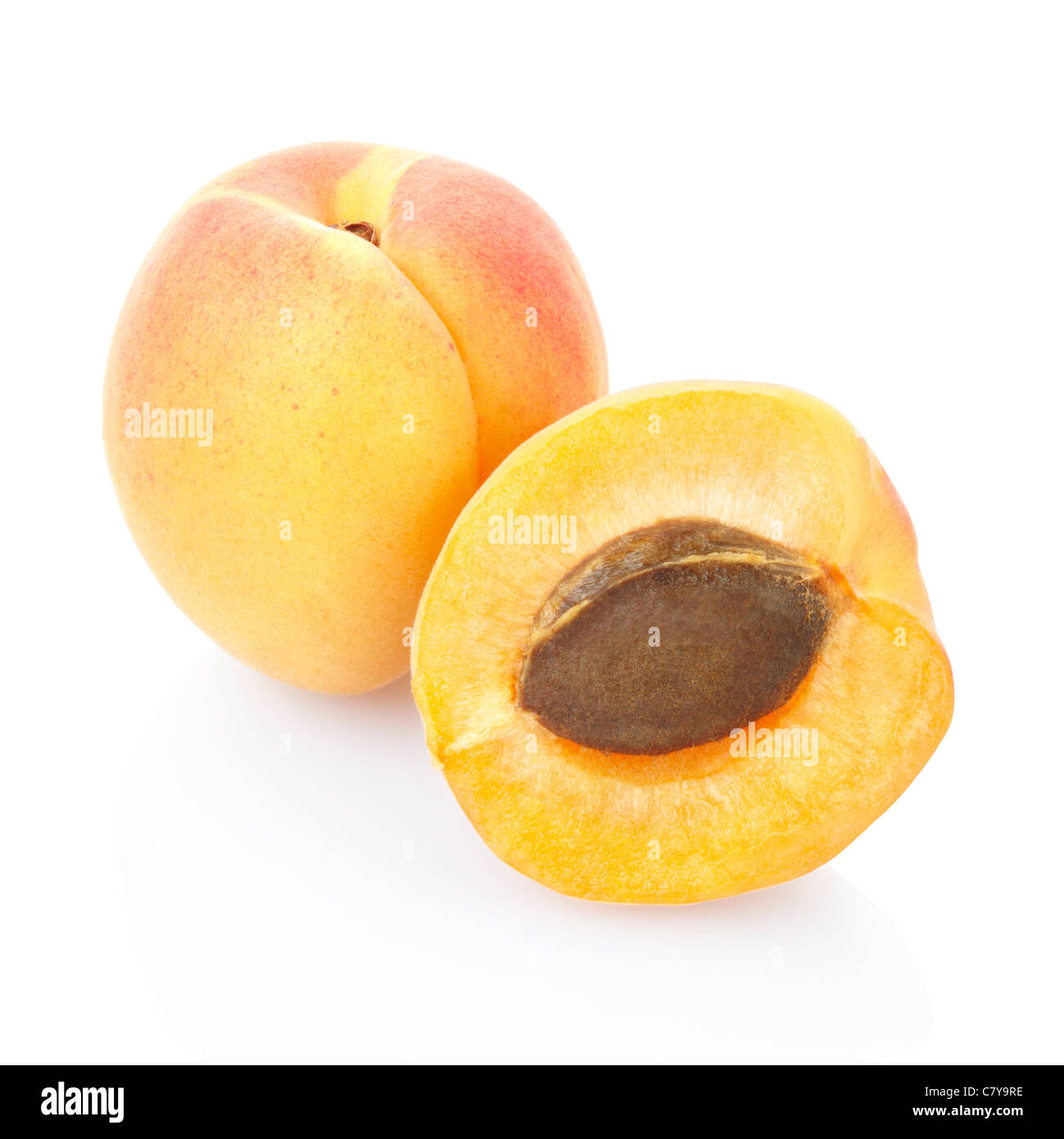 Apricot - Stock Image