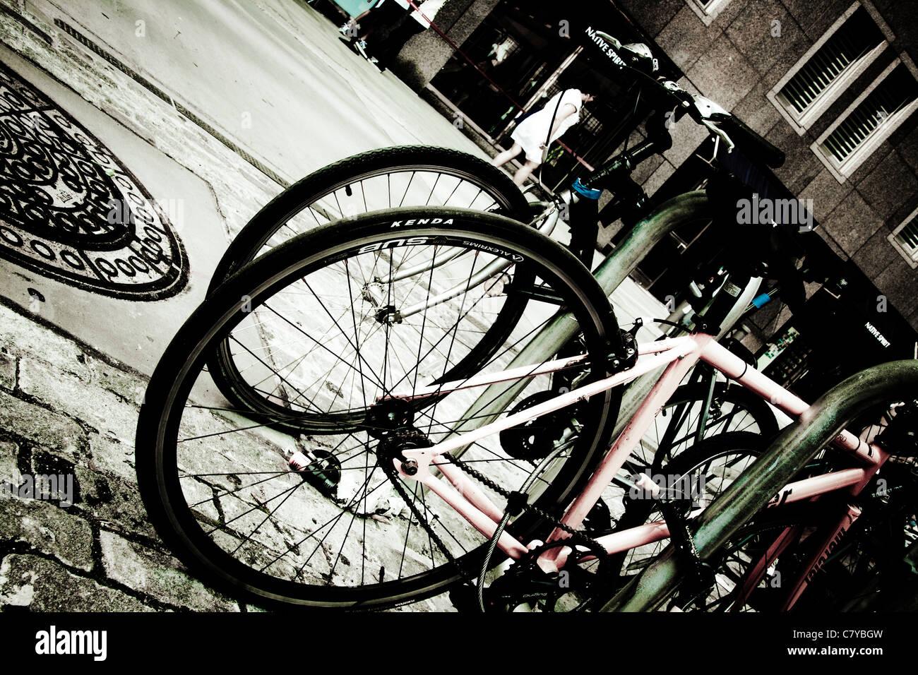 Bike Rack Stock Photos Amp Bike Rack Stock Images Alamy