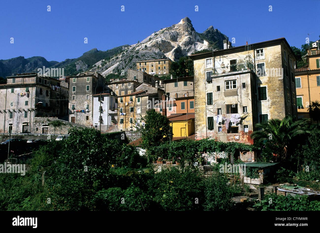 Italy, Tuscany, Carrara Stock Photo