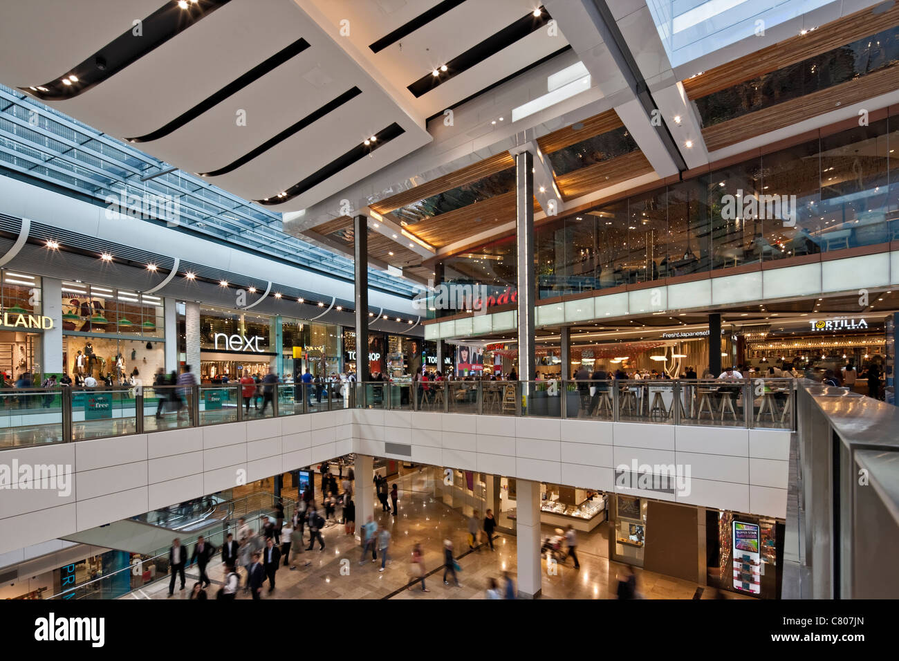 Westfield Shopping Centre - Stratford. - Stock Image