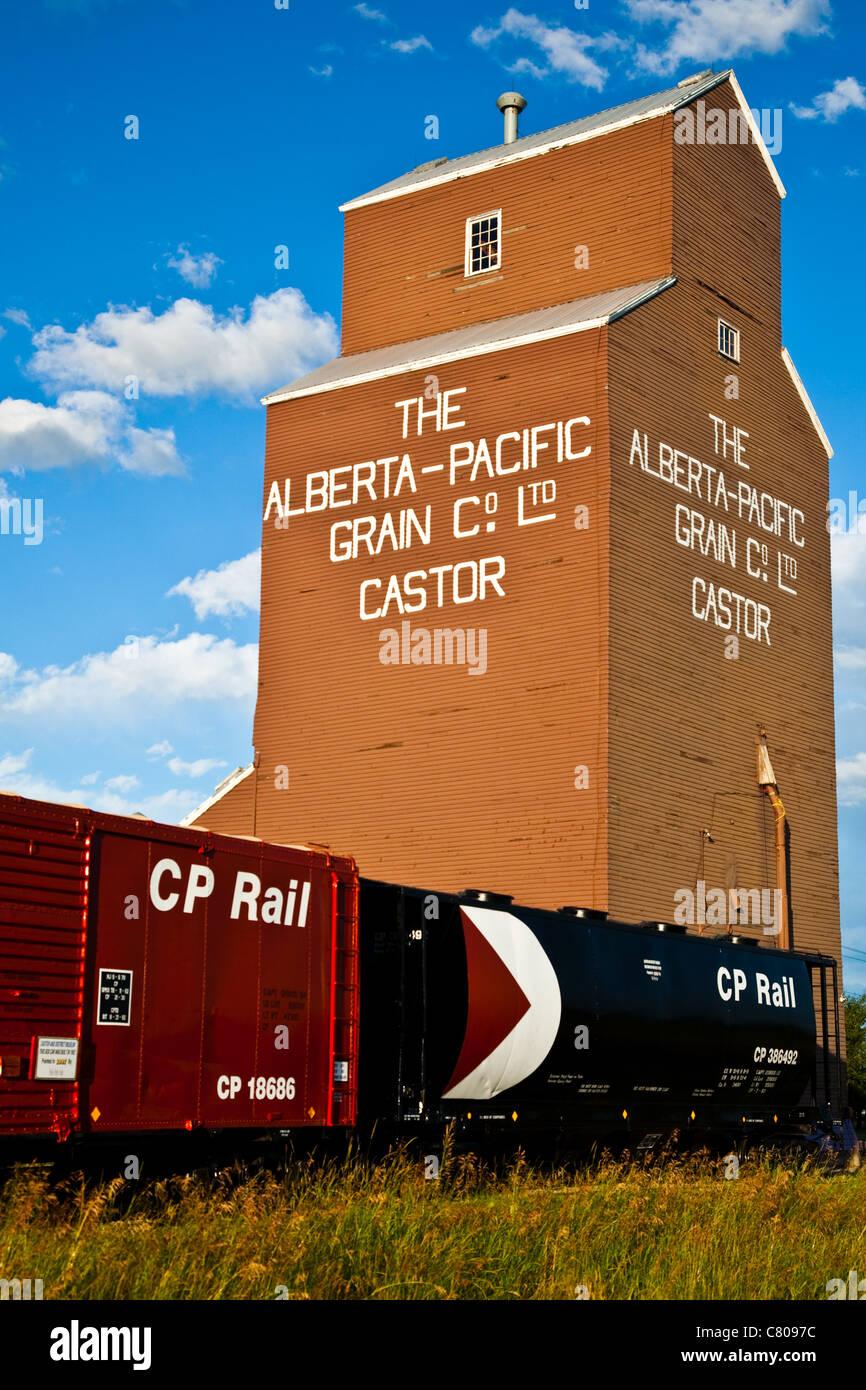Freight Train Grain Cars In Stock Photos Freight Train