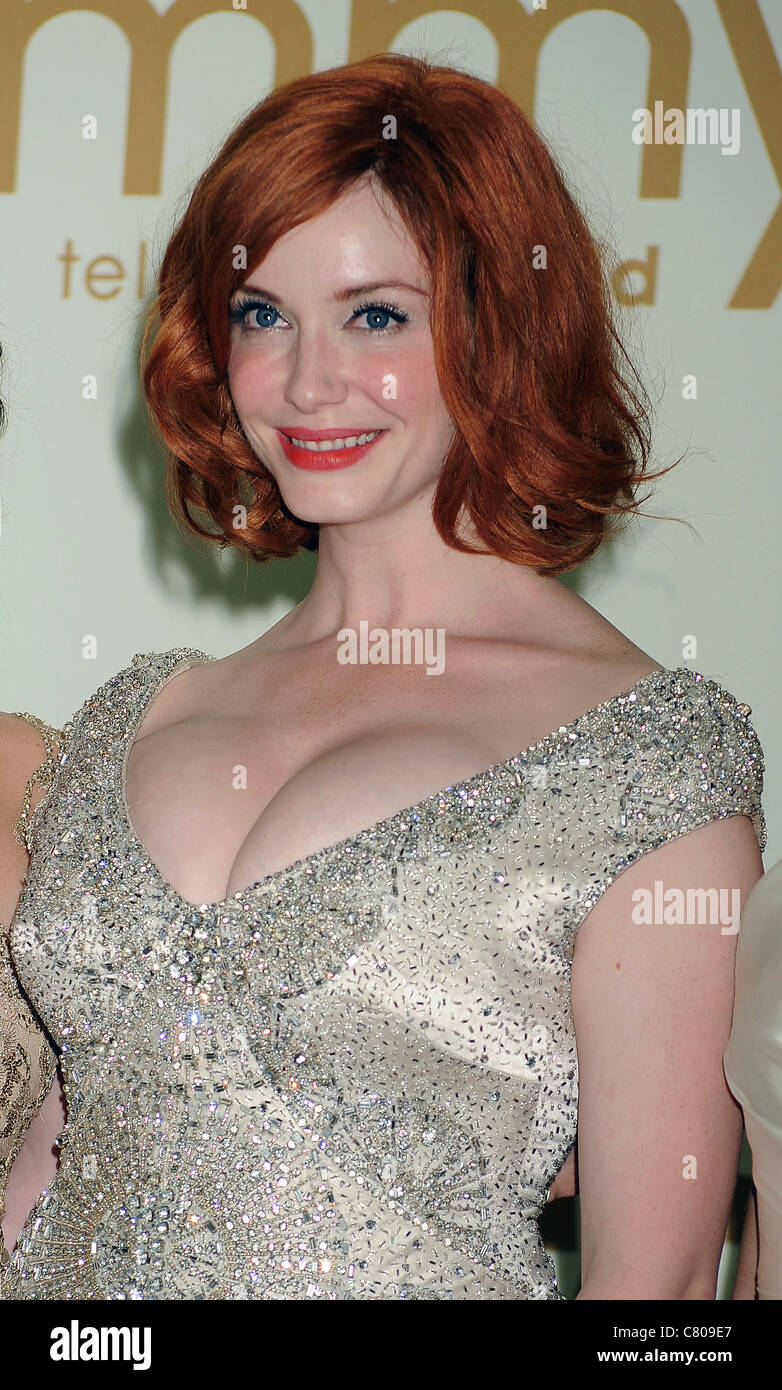 CHRISTINA HENDRICKS  US film and TV actress in September 2011. Photo Jeffrey Mayer - Stock Image