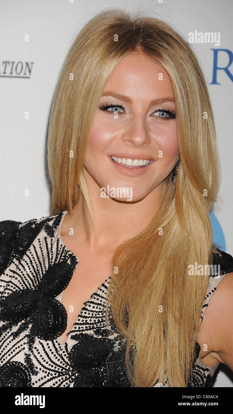 JULIANNE HOUGH US TV personality  in September 2011. Photo Jeffrey Mayer Stock Photo