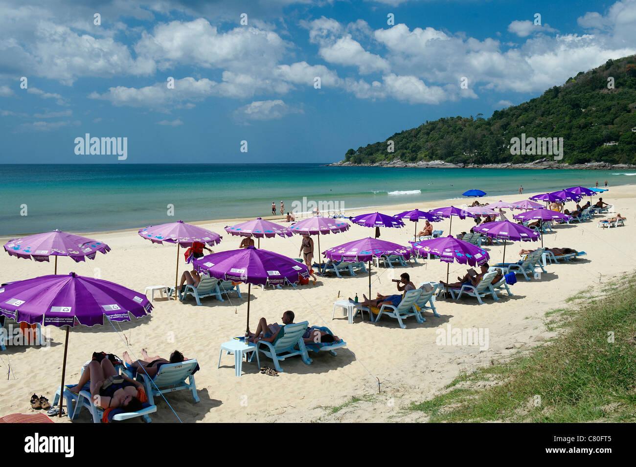 Thailand, Phuket, Karon Beach - Stock Image