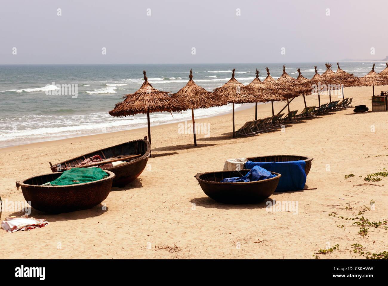 Viet Nam, Danang, China beach - Stock Image