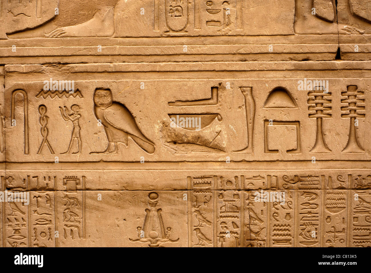 how to write egypt in hieroglyphics