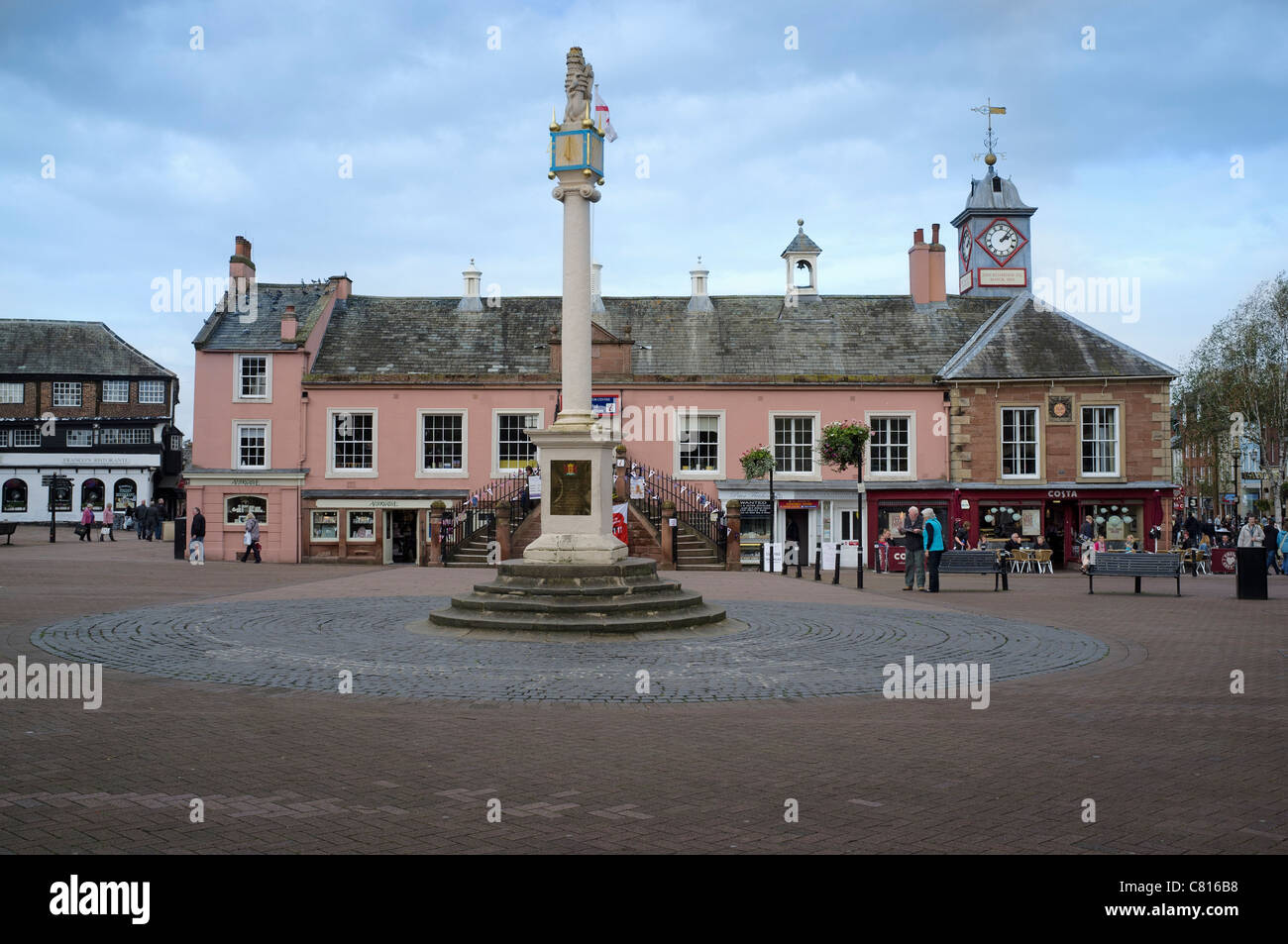 Carlisle, Market Square - Stock Image