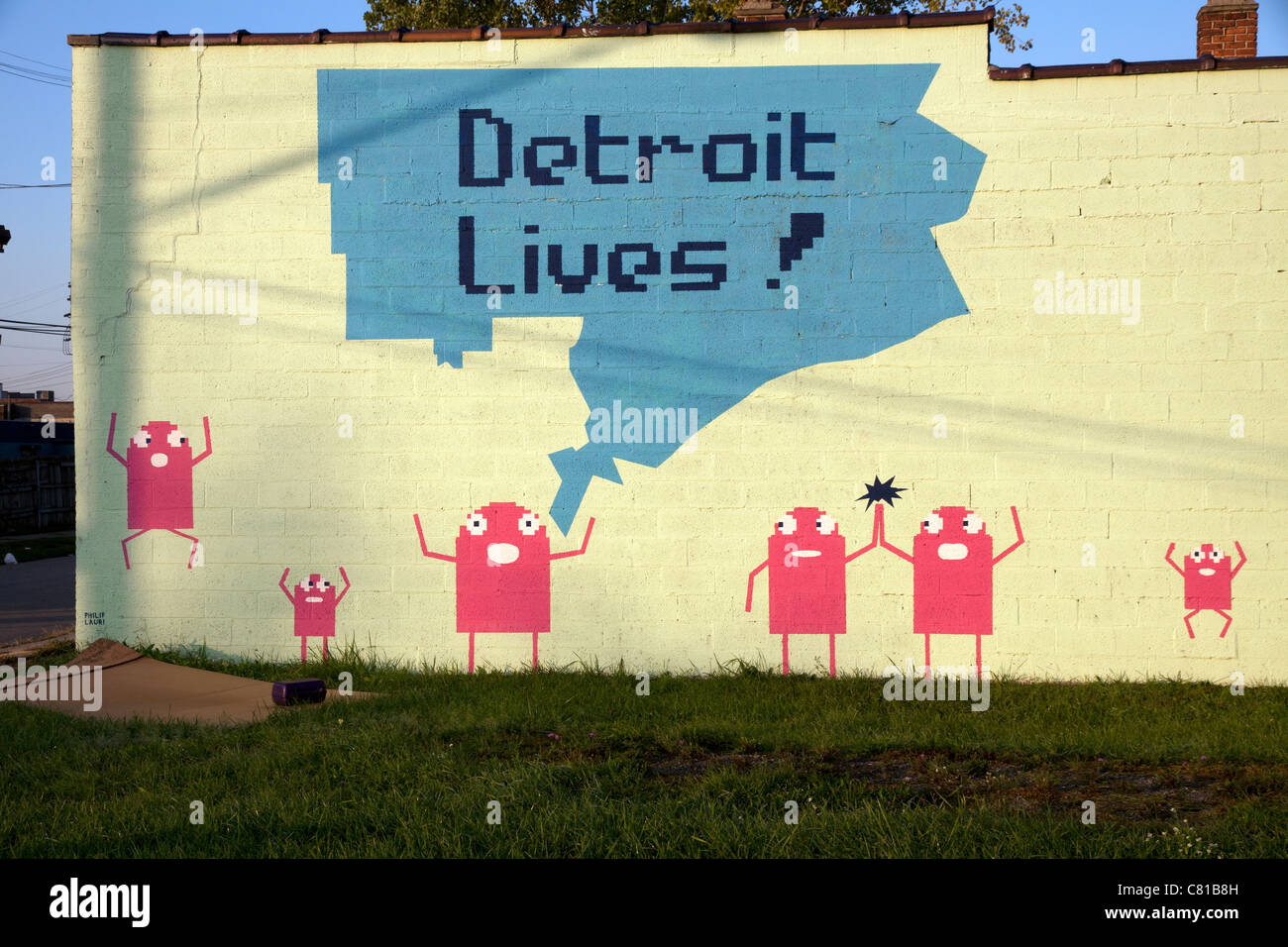 Urban Art Detroit Stock Photos & Urban Art Detroit Stock Images - Alamy
