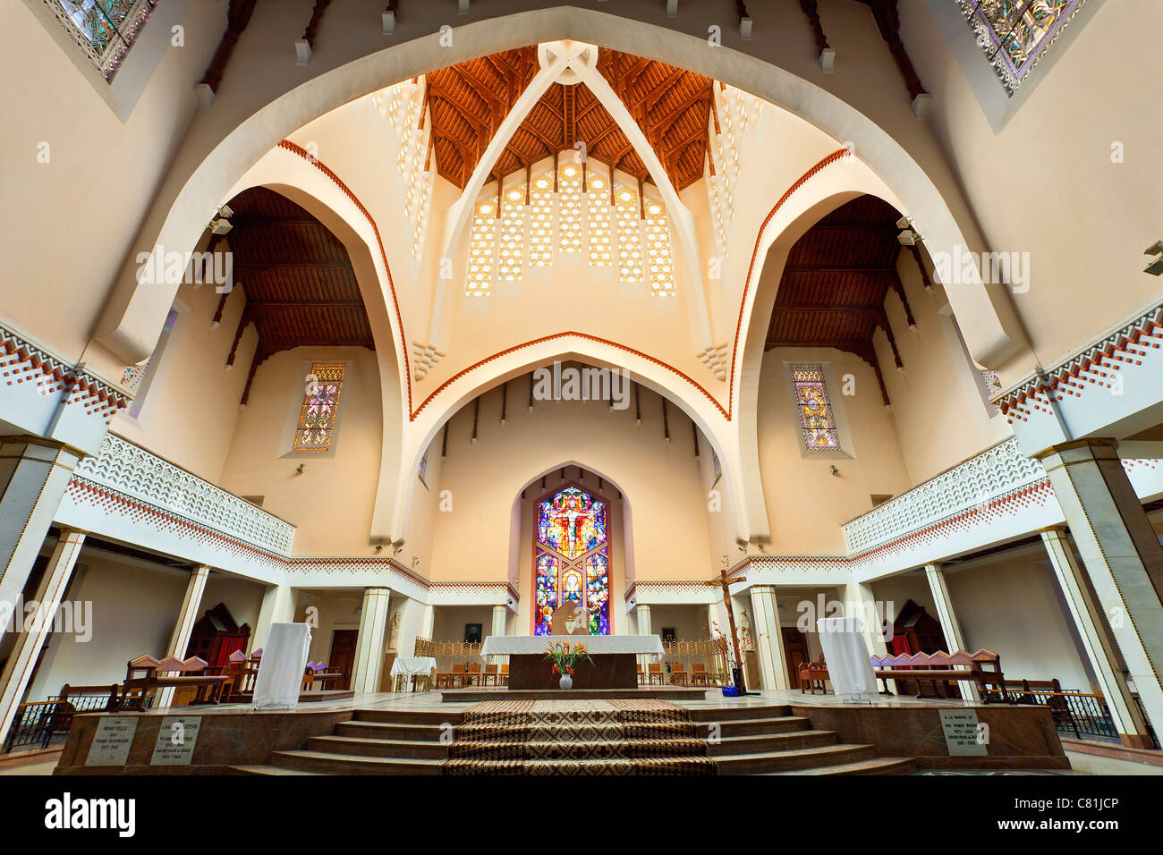 Rabat, Saint Pierre Cathedral - Stock Image