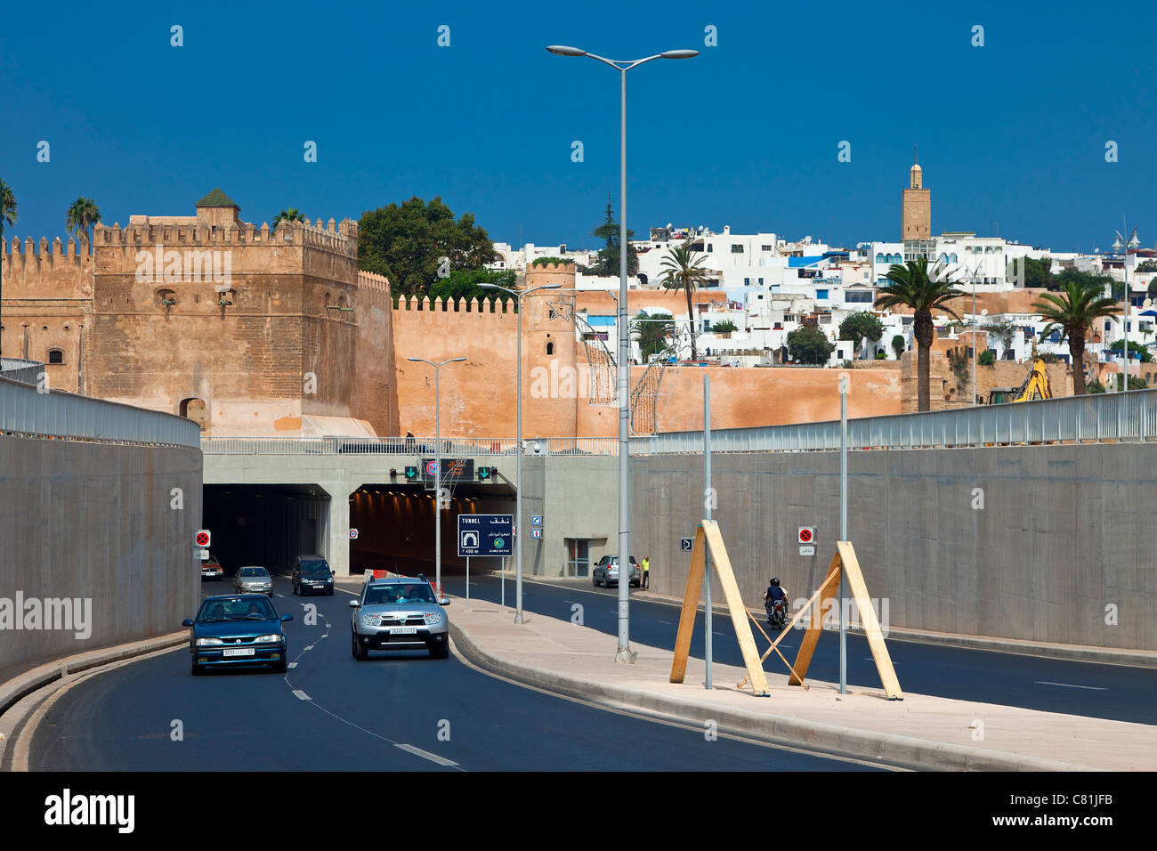 Morocco, Rabat, Tunnel des Oudaias - Stock Image