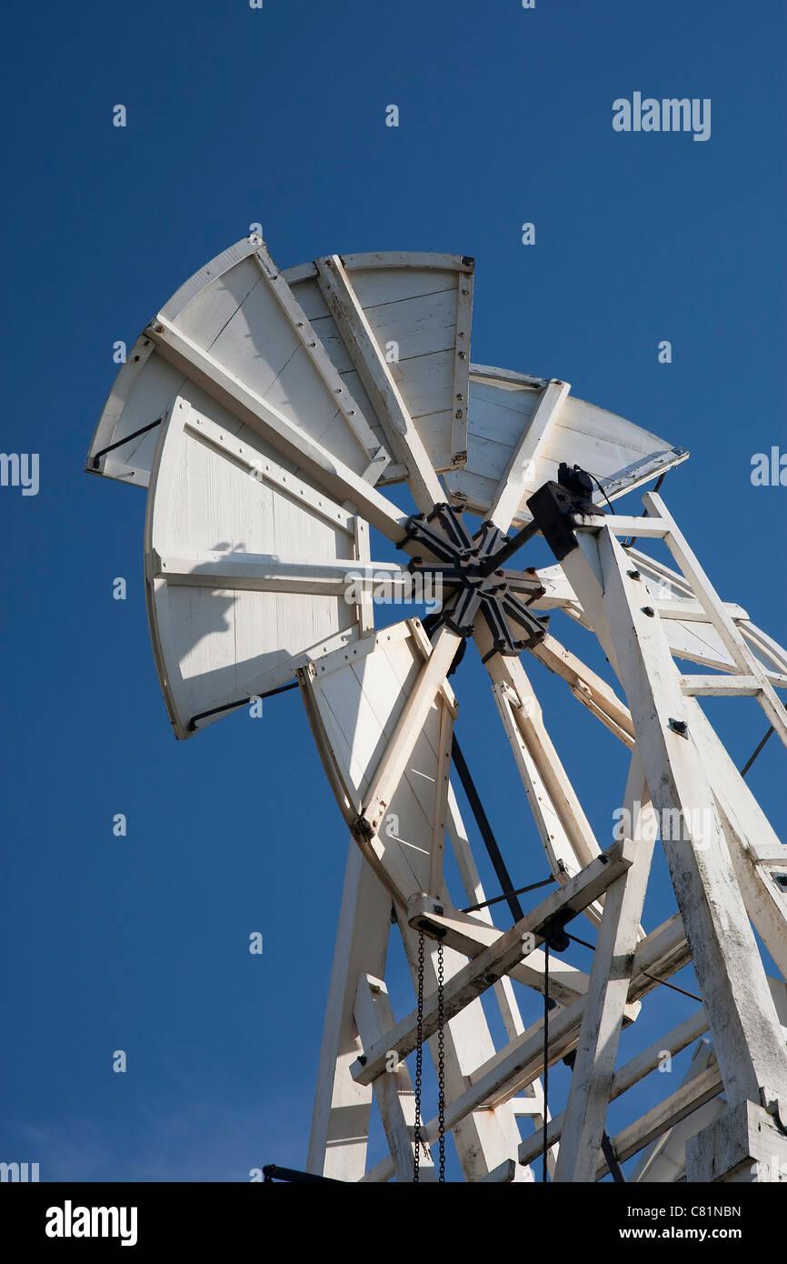 Windmill Vane, Heage Windmill, Derbyshire, England, UK. - Stock Image