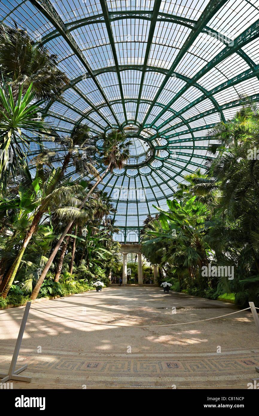 Interior View Of Jardin D Hiver Royal Greenhouses Of Laeken