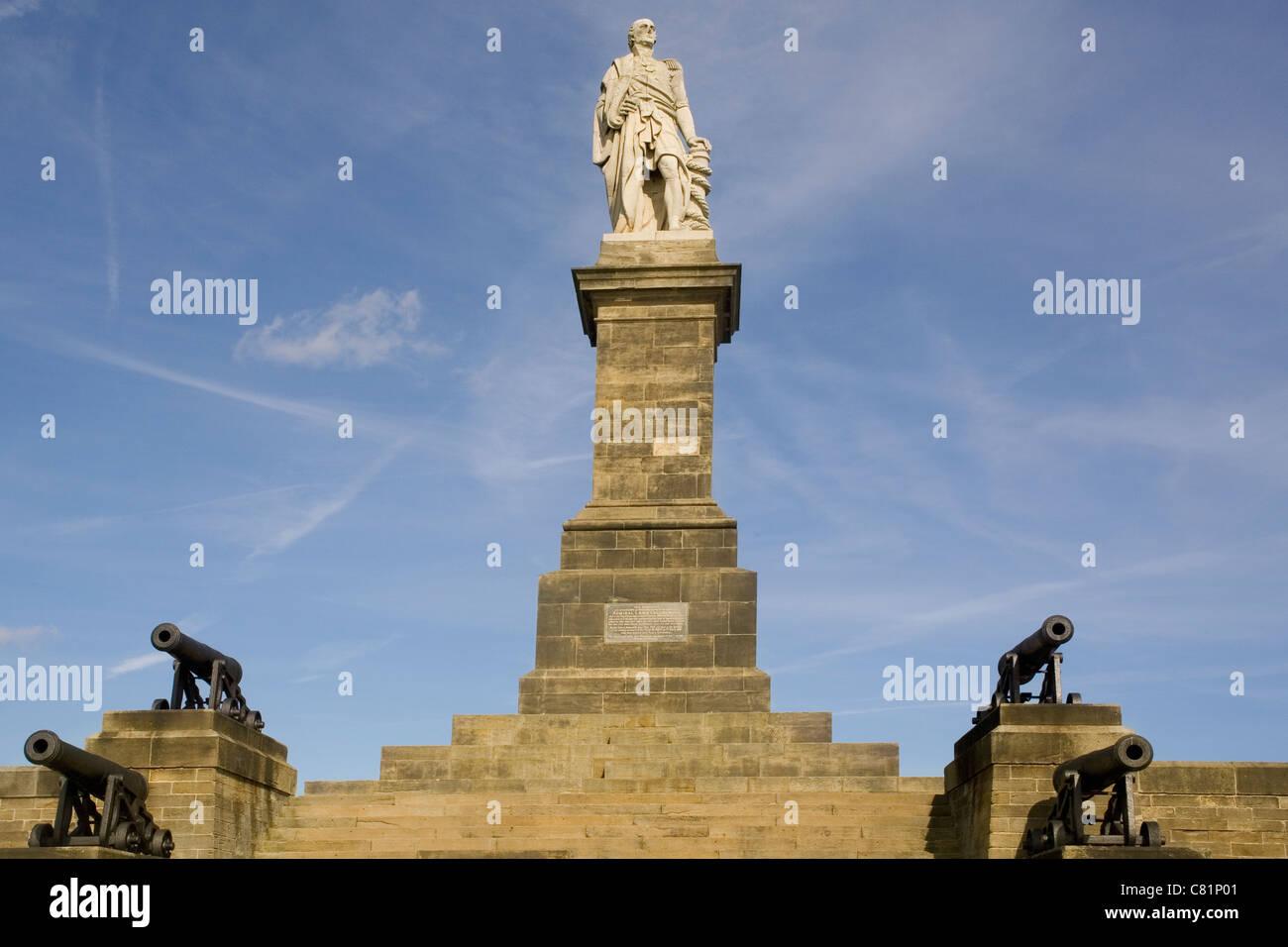 England Tyne&Wear Tynemouth Collingwood monument Stock Photo