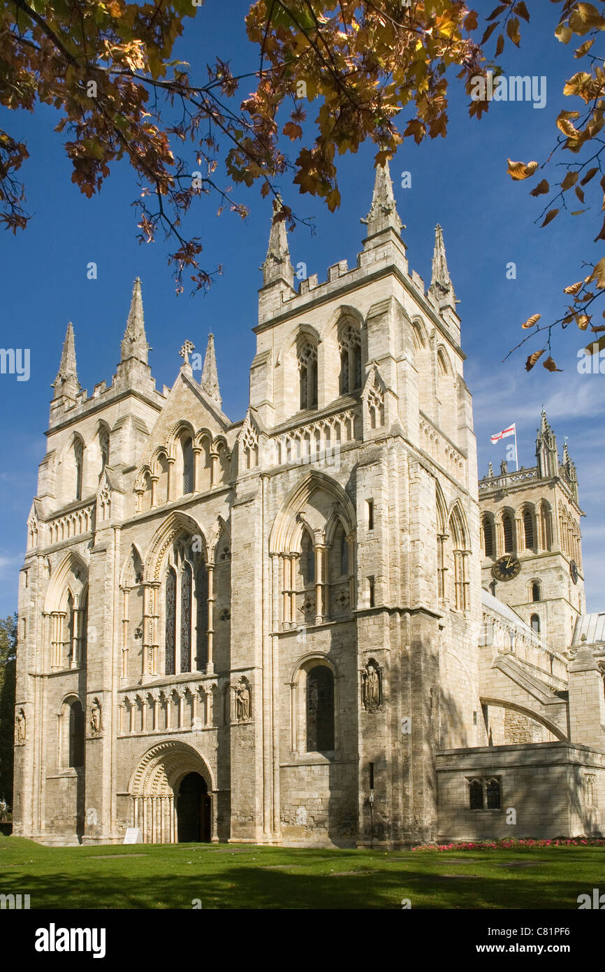 England Yorkshire Selby abbey - Stock Image