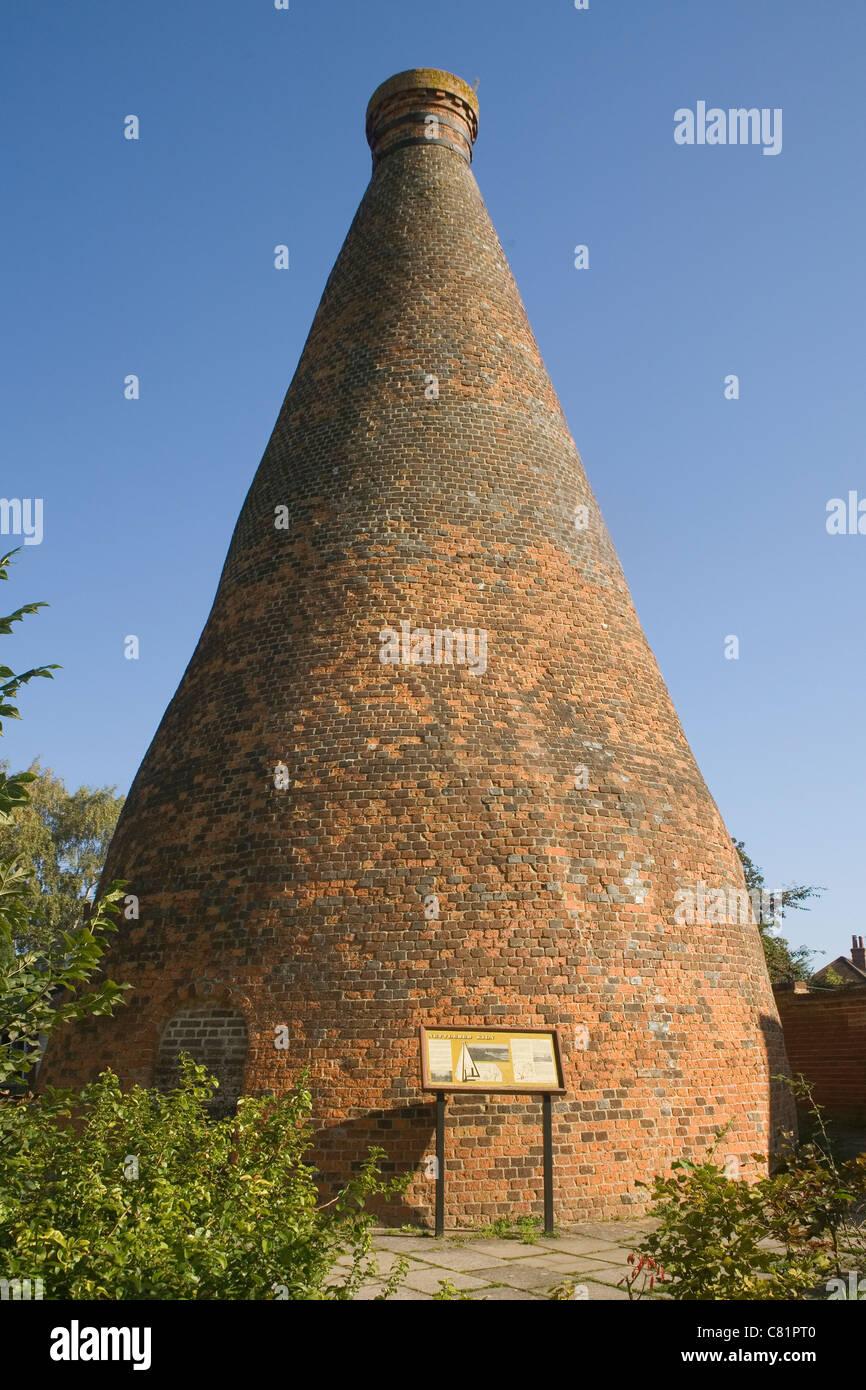 England Oxfordshire Nettlebed Old Brick Kiln Stock Photo